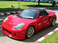 Toyota MR-S (ZZW30) 99-07