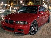 BMW M3 (E46 M3) 01-06
